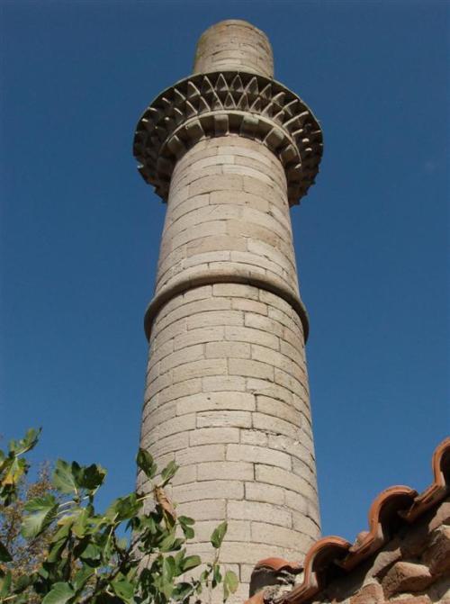Turkish minaret in Skalachori