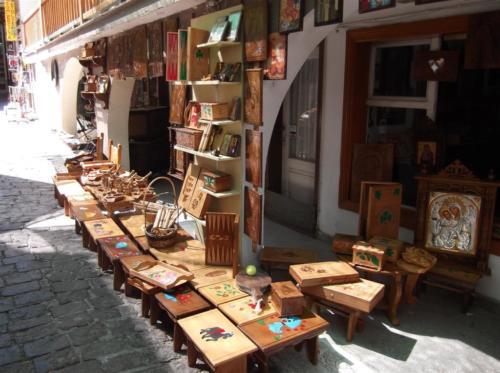 Woodcraft in Agiasos