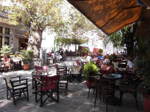 Central square in Antissa
