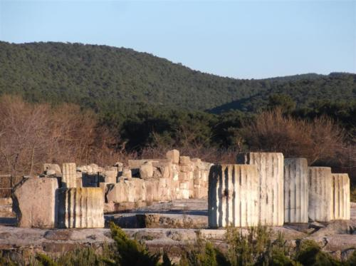 Ancient site/ruins of Messa Lesvos