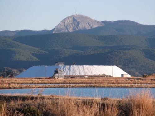 Salt plains and Mount Olympos