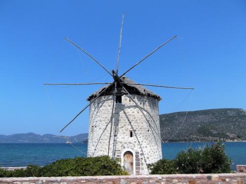 Wind mill in Perama