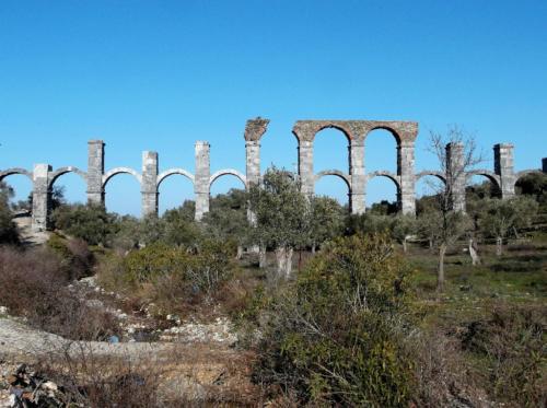 Roman aquaduct in Moria