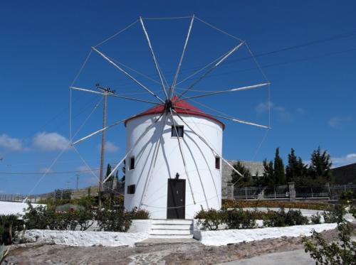 Wind mill in Sigri